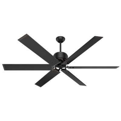 Hunter – Commercial – Outdoor – Ceiling Fans – Lighting – The Home Depot With 2017 Hunter Outdoor Ceiling Fans With White Lights (Gallery 3 of 15)