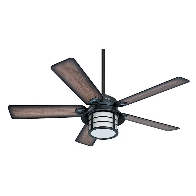 Hunter Indoor Outdoor Ceiling Fans With Lights Inside Current Hunter Prestige Key Biscayne 54 In. Indoor/outdoor Ceiling Fan (Gallery 10 of 15)