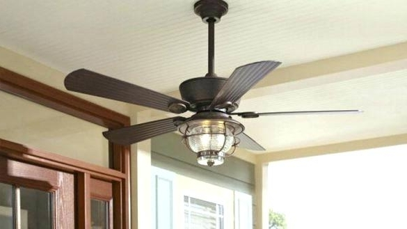 Hunter Outdoor Ceiling Fans With Lights And Remote Throughout 2017 Low Mount Ceiling Fan Outdoor Ceiling Fans Hunter Flush Mount (Gallery 7 of 15)