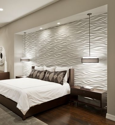 Ideas For Bedroom Throughout Most Popular Bedroom 3D Wall Art (View 13 of 15)