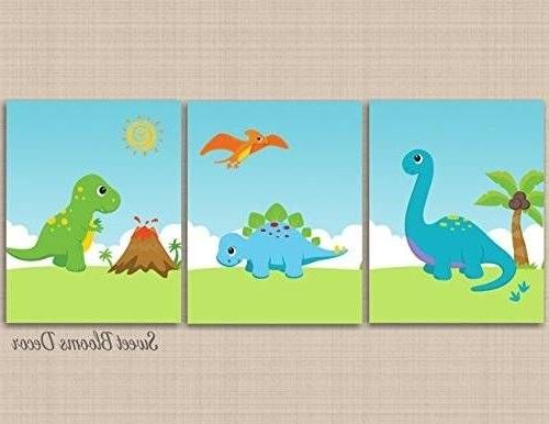 Image Result For Handmade Dinosaur Canvas Wall Art