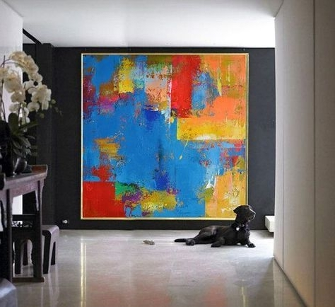 Image Result For Large Abstract Canvas Art Acrylic