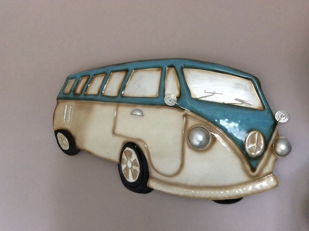 In Stoke On Trent, Staffordshire In Campervan Metal Wall Art (Gallery 4 of 15)