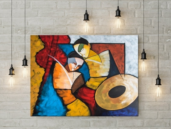 India Abstract Wall Art Inside Recent Fascinating Indian Wall Art Home Design Ideas Painting India Decor (View 4 of 15)