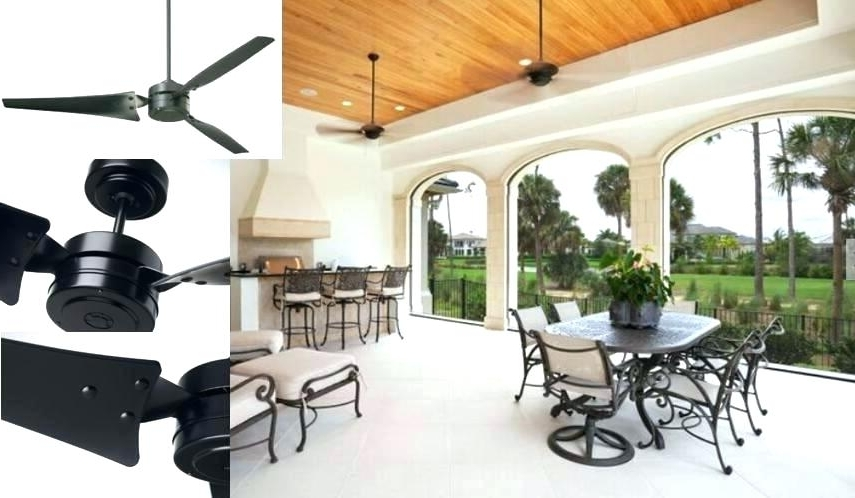 Indoor Outdoor Ceiling Fan With Light Outdoor Ceiling Fans With with Most Recently Released Indoor Outdoor Ceiling Fans With Lights And Remote