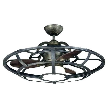 Industrial Outdoor Ceiling Fans With Light Inside Favorite Rustic Industrial Ceiling Fan Dual Ceiling Fan With Light Ceiling (Gallery 13 of 15)