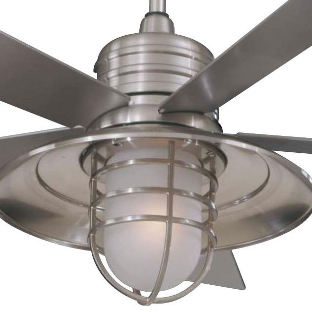 Industrial Outdoor Ceiling Fans With Light Throughout Newest Industrial Outdoor Ceiling Fan With Light Amazing Lowes Ceiling Fans (View 6 of 15)