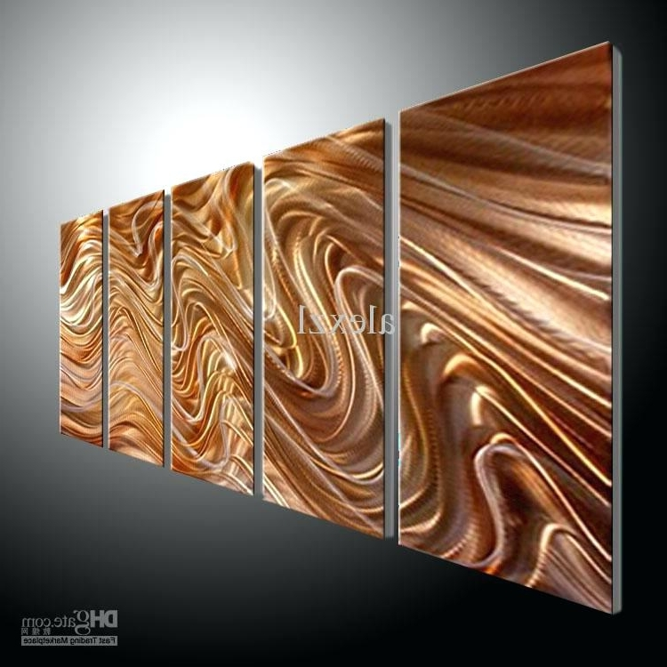 Inexpensive Abstract Metal Wall Art Throughout Newest Abstract Metal Wall Art Cheap Metal Wall Art Abstract Contemporary (View 6 of 15)
