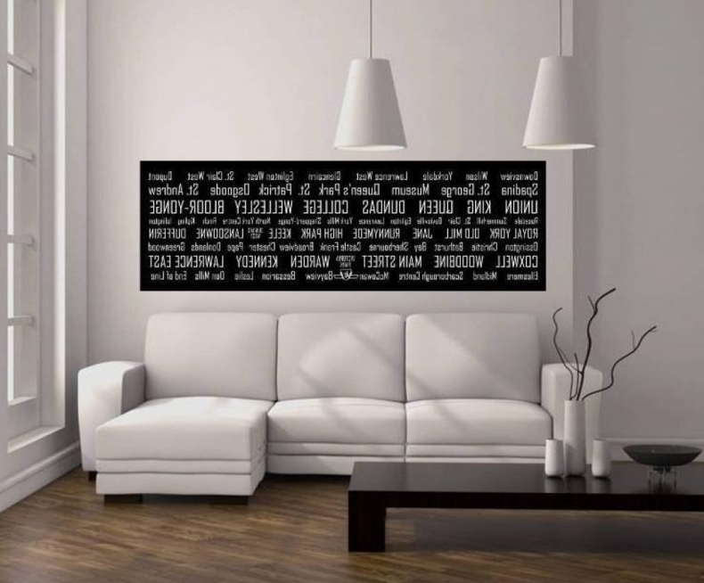 Innovation Inspiration Horizontal Wall Decor Home Pictures Amazing With Best And Newest Large Horizontal Wall Art (View 4 of 15)