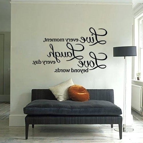 Inspirational Sayings Wall Art In Most Current Inspirational Quotes Wall Decor 383 Wall Decor Inspirational Quotes (View 6 of 15)