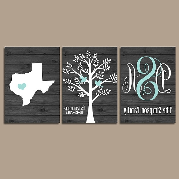 Intricate Last Name Wall Art Home Design Ideas The Best Personalized With Regard To Best And Newest Personalized Last Name Wall Art (View 10 of 15)