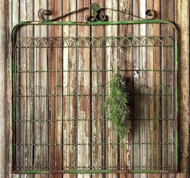 Iron Gate Wall Art Regarding Trendy Wall Gate Decor Wall Art Decor And Sculptures Wrought Iron Gate (View 7 of 15)