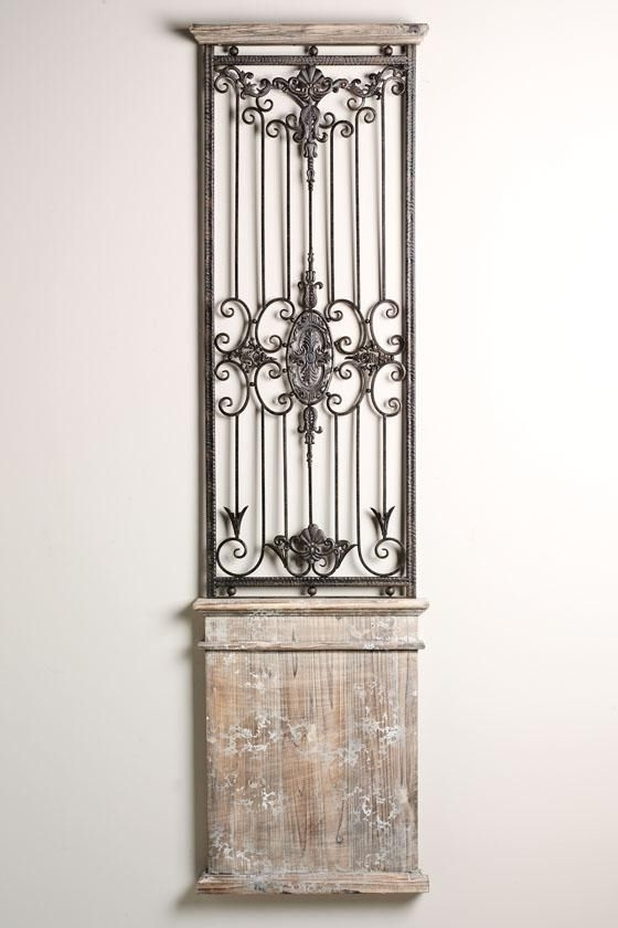 Iron Gates, Gate And regarding Metal Gate Wall Art