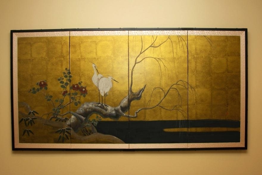 Japanese Wall Art Panels With Regard To 2017 Japanese Wall Art Panels Japanese Wall Art Panels Best Wall  (View 13 of 15)