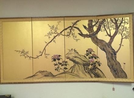 Japanese Wall Panels Gerdmatter, Japanese Wall Art Panels – Swinki Within Trendy Japanese Wall Art Panels (View 3 of 15)