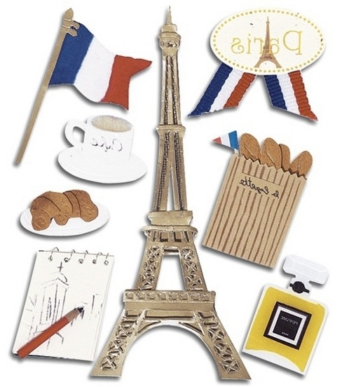 Jolee's Boutique Themed Stickers  Paris (View 5 of 15)