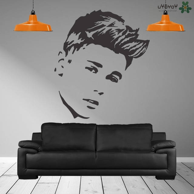 Justin Bieber Wall Decal Fashion Singer Jb Poster Girls Home Decor throughout Fashionable Justin Bieber Wall Art