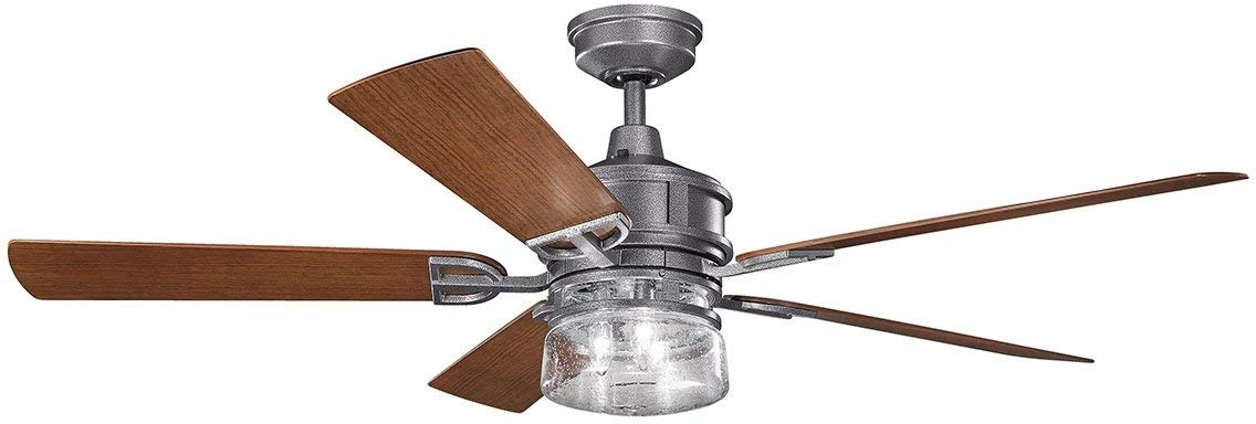 Kichler Lighting - - Amazon intended for Well-known Outdoor Ceiling Fans At Kichler