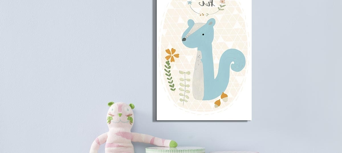 Kids Canvas Wall Art pertaining to 2017 Art For Kids