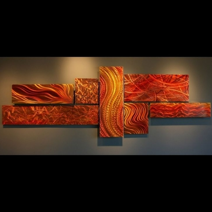Kingdom Abstract Metal Wall Art intended for Most Current Displaying Photos Of Kingdom Abstract Metal Wall Art View 11 Of 20