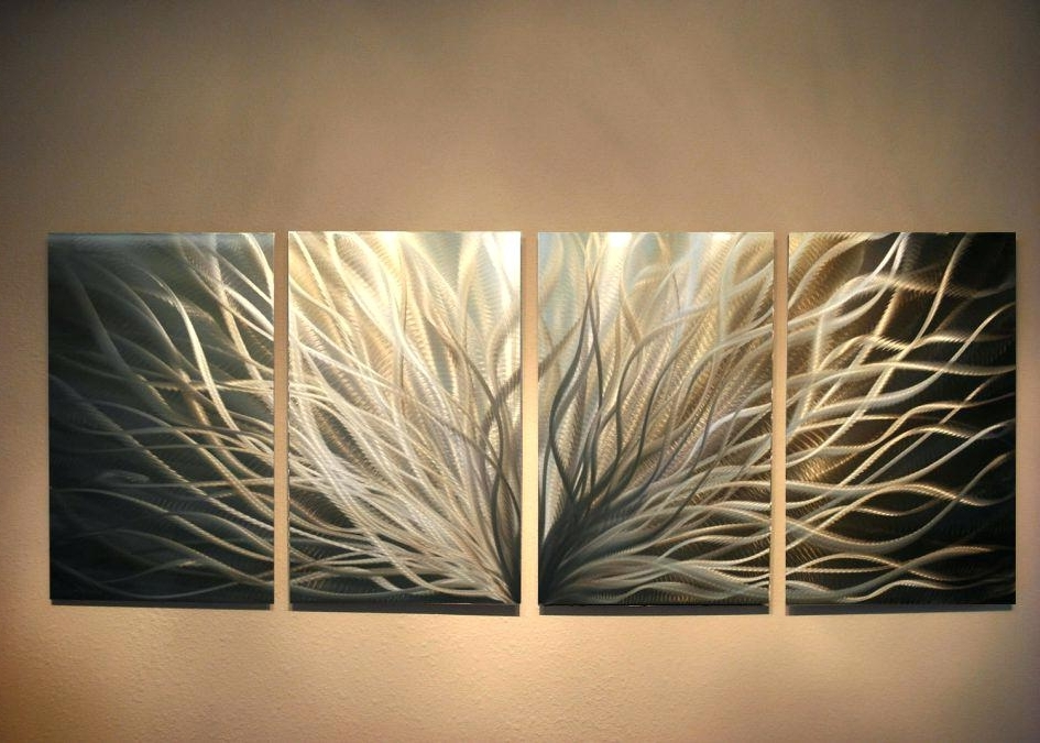 Featured Photo of Kingdom Abstract Metal Wall Art