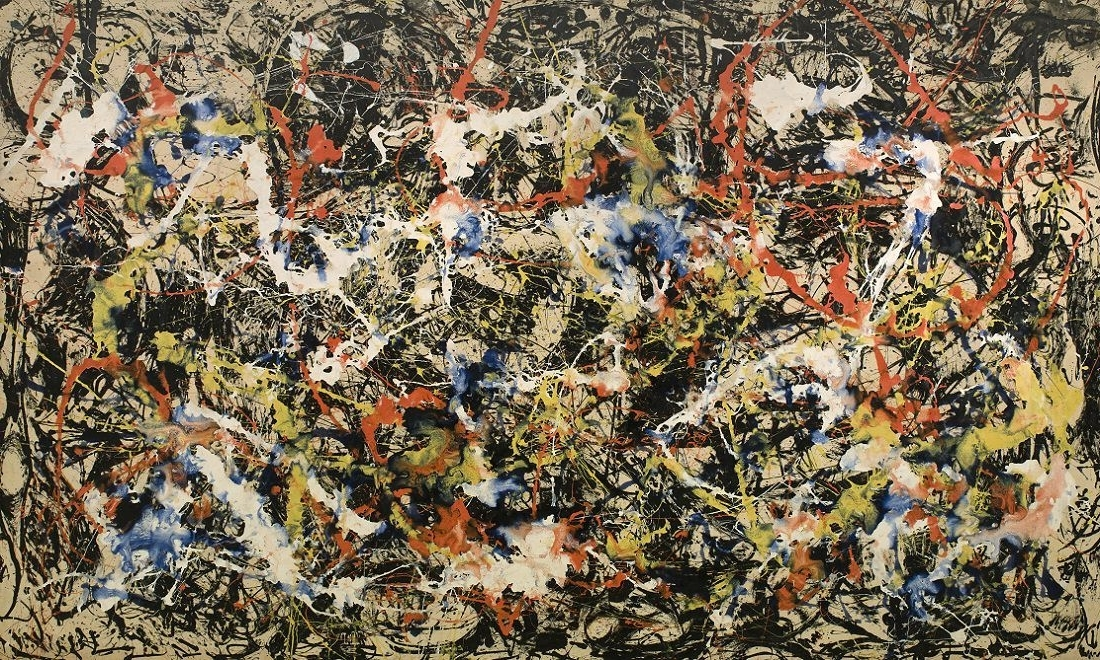 "Kirby Kendrick, Artist — ""Convergence"" (1952), Jackson Pollock Intended For Best And Newest Kirby Abstract Wall Art (View 15 of 15)"