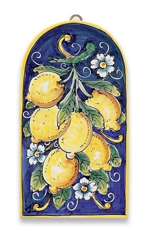 Kitchen Ideas For 2017 Italian Ceramic Wall Art (View 2 of 15)