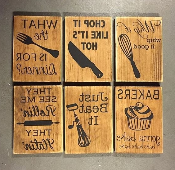 Kitchen Wall Art Ideas – How To Add Glamour To Your Kitchen Walls With Favorite Cool Kitchen Wall Art (View 10 of 15)