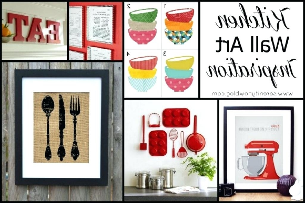 Kitchen Wall Art Sets Pertaining To 2017 Kitchen Wall Decor Sets Full Size Of Kitchen Wall Decor Sets Quote (View 8 of 15)
