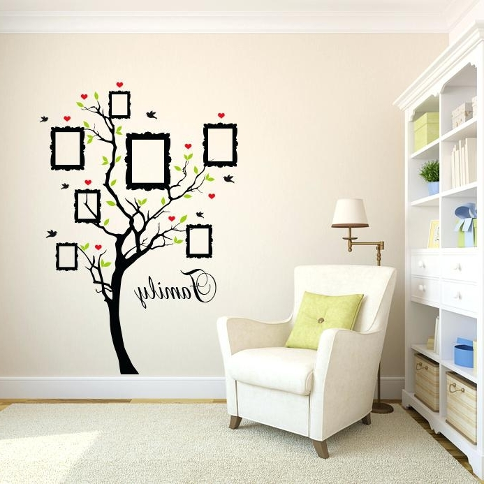 Kohls Wall Decals Also Image Of Family Wall Decals Bed Bath And With Regard To Current Kohls Wall Decals (Gallery 6 of 15)