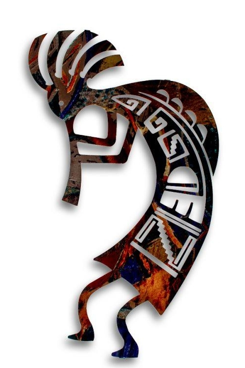 Kokopelli Metal Wall Art With Best And Newest Wonderful Design Ideas Kokopelli Wall Art – Ishlepark (View 7 of 15)