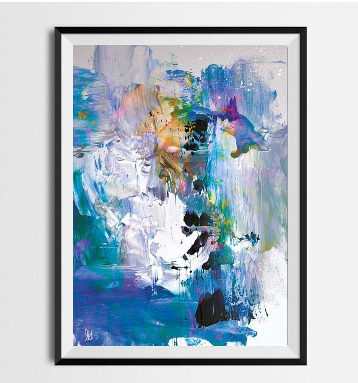 Large Abstract Art, Printable Abstract Wall Art, Hand Painted For Popular Printable Abstract Wall Art (View 6 of 15)