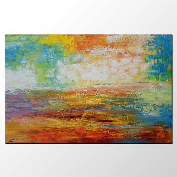 Large Abstract Canvas Wall Art In Famous Acrylic Painting Large Canvas Art Canvas Wall Art Abstract (View 5 of 15)