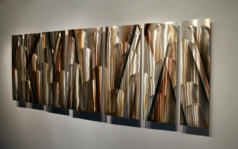 Large Abstract Metal Wall Art With Most Recent Abstract Wall Art Metal Large Metal Wall Art Large Modern Abstract (View 3 of 15)
