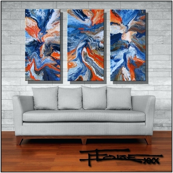 Large Abstract Wall Art Australia Within 2017  (View 6 of 15)