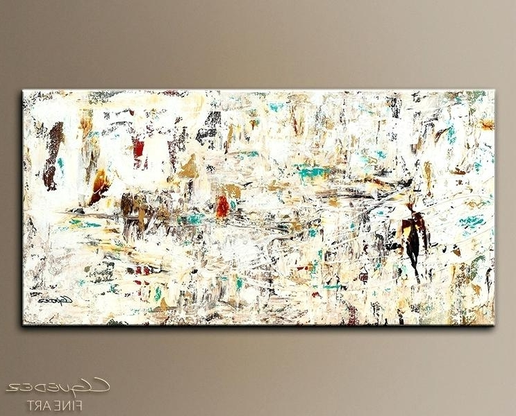 Large Abstract Wall Art Quest Abstract Art Painting Imagelarge Inside Well Known Large Abstract Canvas Wall Art (View 6 of 15)