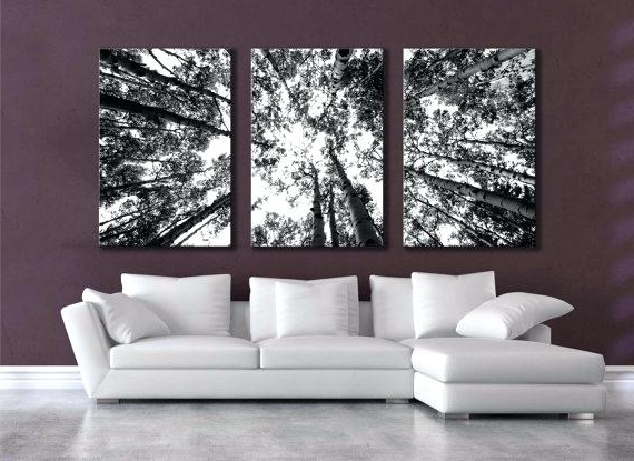 Large Black And White Wall Art Regarding Widely Used Wall Art White 2 Pieces Set Prints Abstract Grass Black And White (View 8 of 15)