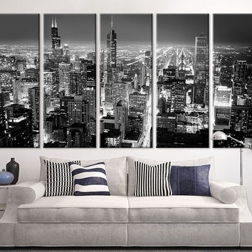 Large Black And White Wall Art With Regard To 2017 Shop Large Black And White Canvas Prints On Wanelo (View 9 of 15)