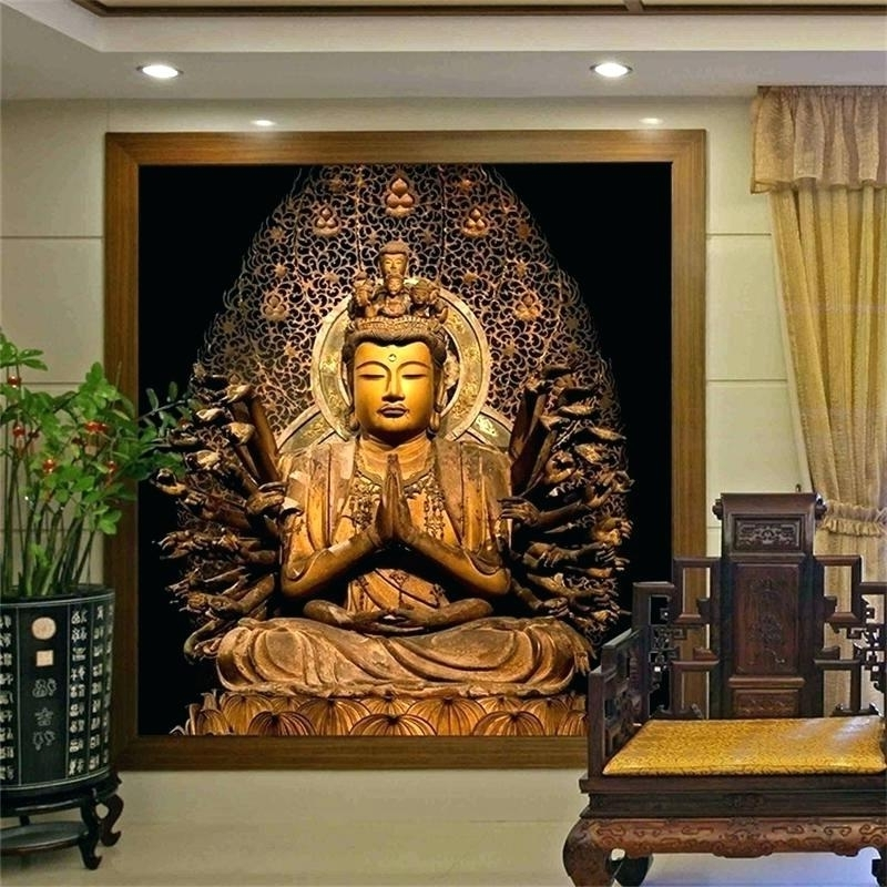Large Buddha Wall Art Intended For Fashionable Buddha Wall Art Canvas Ideas Of Large Wall Art Wall Art Ideas (View 8 of 15)