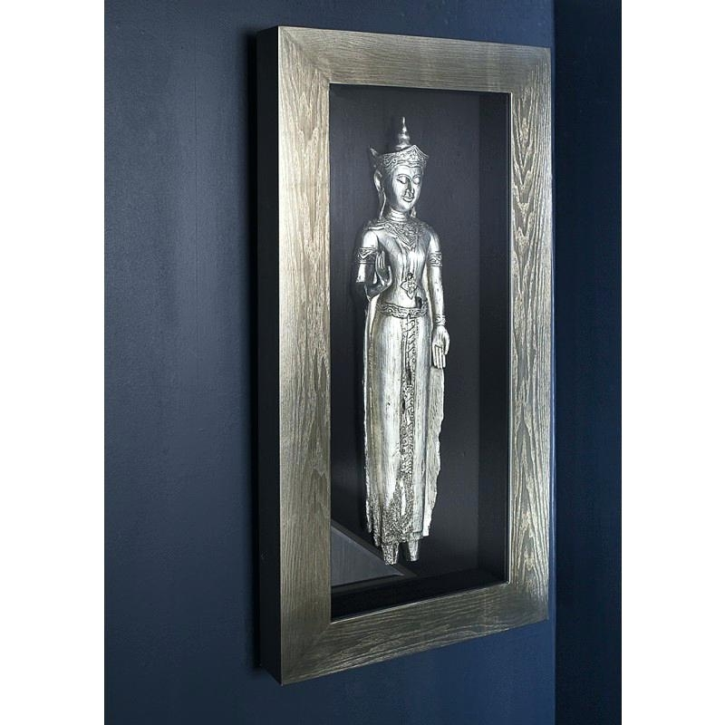 Large Buddha Wall Art Silver Wall Art Frame Wallpaper Desktop 4 Inside Most Up To Date Silver Buddha Wall Art (View 5 of 15)