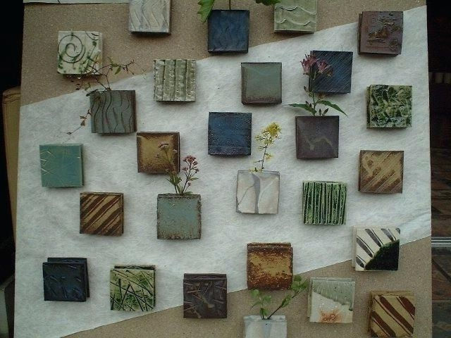 Large Ceramic Wall Art Inside Current Ceramic Wall Art – Ambitionsof (View 6 of 15)