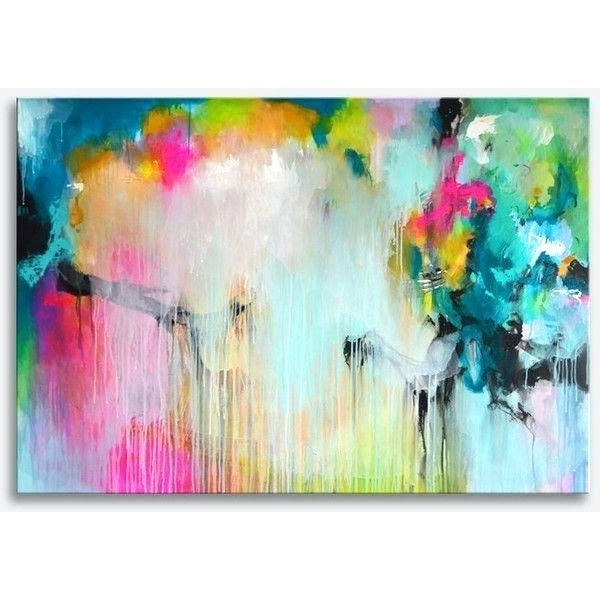 Large Colorful Wall Art Original Extra Large Abstract Painting Bold Intended For Latest Colourful Abstract Wall Art (View 2 of 15)