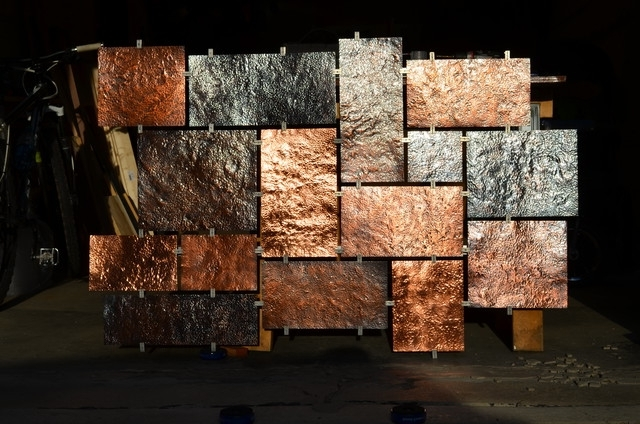 Large Copper Wall Art Within Most Current Wall Art Ideas Design : Artists Large Copper Wall Art Combination (View 11 of 15)