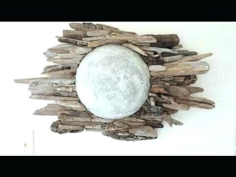Large Driftwood Wall Art For Popular Metal Moon Wall Art Driftwood Wall Art For Sale Large Driftwood Wall (View 6 of 15)