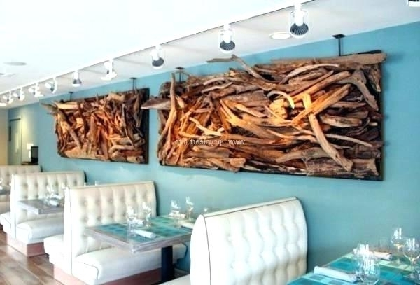 Large Driftwood Wall Art In Favorite Awesome Driftwood Wall Art F4005509 Driftwood Wall Art Large – Mesop (View 7 of 15)