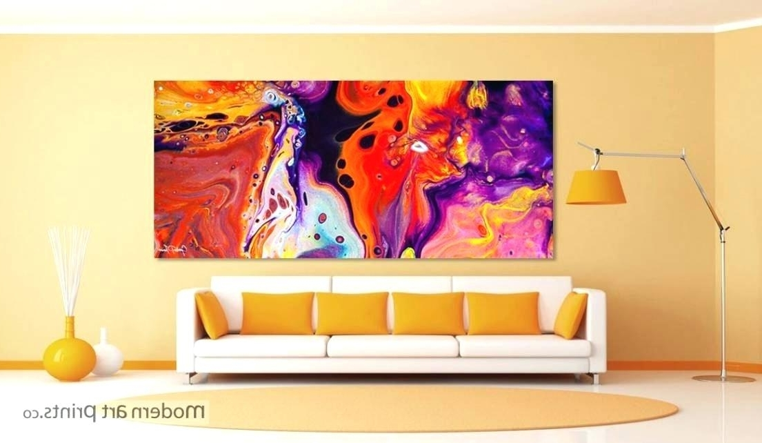 Large Framed Abstract Wall Art Inside Current Contemporary Framed Wall Art Modern Art Prints Framed Wall Art Large (View 6 of 15)