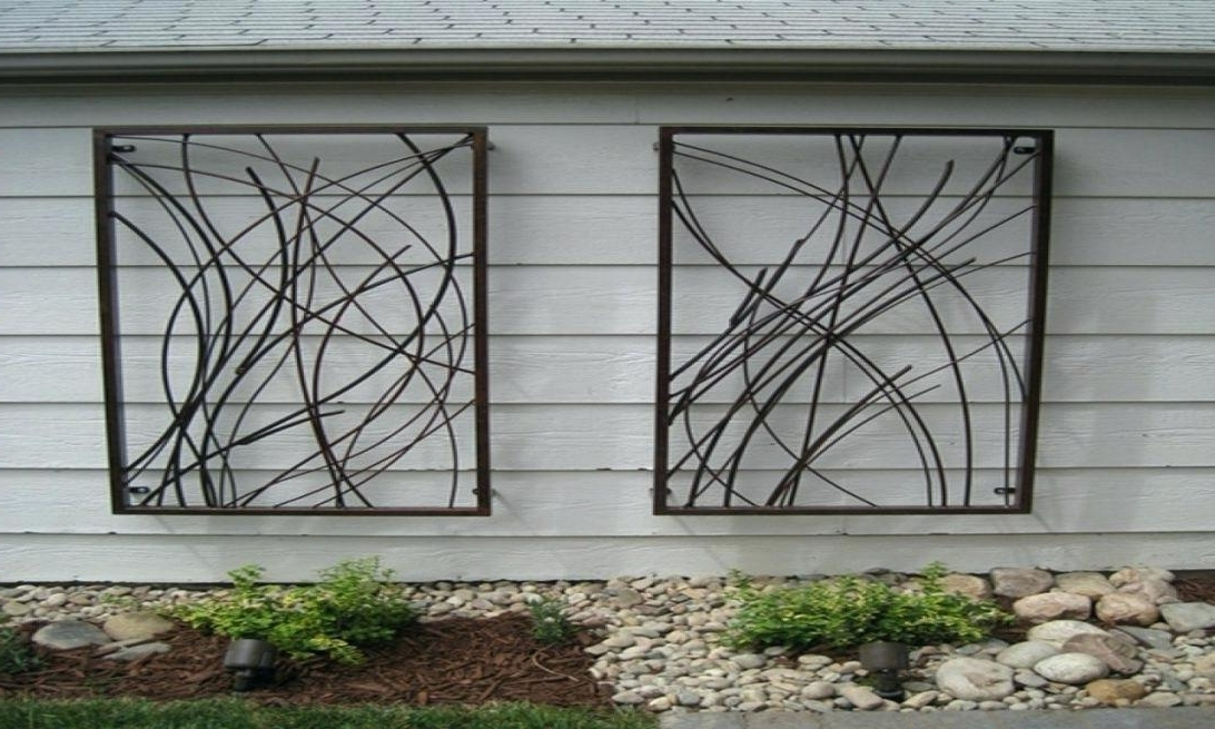 Large Garden Wall Art Inside Preferred Large Garden Wall Art Wall Art Outdoor Outdoor Wall Art Metal (View 15 of 15)