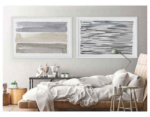 Large Horizontal Wall Art For Latest Large Wall Art, Contemporary Wall Art, Horizontal Wall Art, Abstract (View 6 of 15)