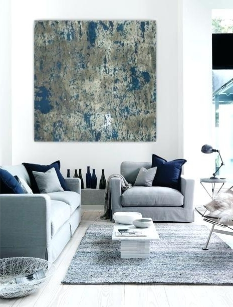Large Living Room Paintings Piece Beautiful Oversized Modern Wall Throughout Most Popular Oversized Modern Wall Art (View 4 of 15)