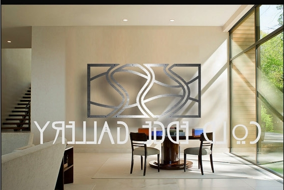Large Metal Art For Most Up To Date Extra Large Art, Metal Wall Art, Art, Decor, Abstract, Contemporary (View 4 of 15)